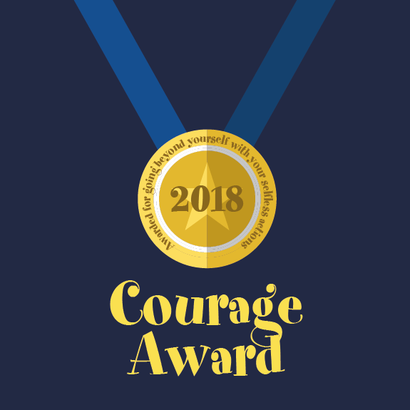 CourageAwardmenu
