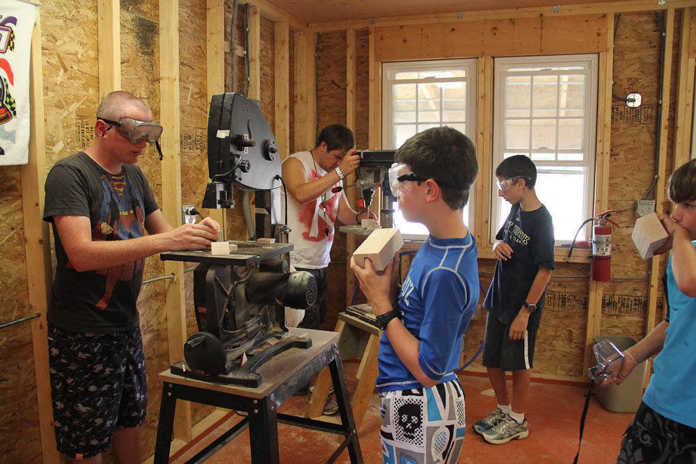 res Step Beyond at Camp Emerson-