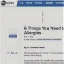 ABC News Medical Report - 6 Things You Need to Know About Food Allergies