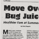 Westchester Parent Magazine Article - Move Over Bug Juice! G